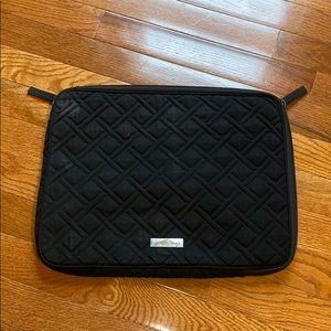 Black Vera Bradley Laptop Case